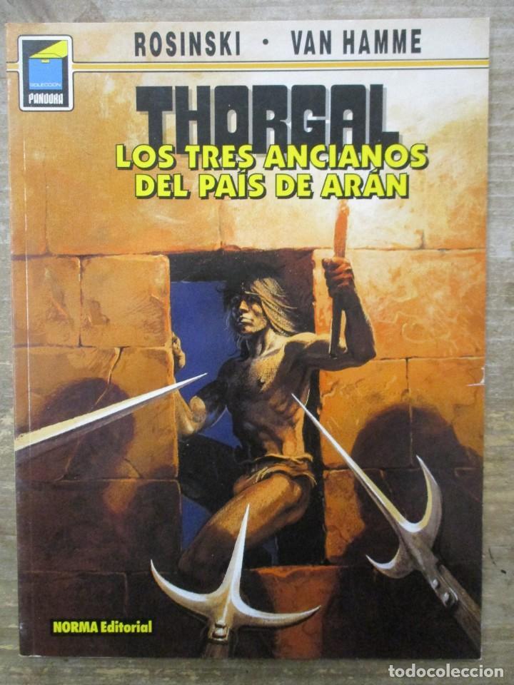 THORGAL - COLECCION PANDORA - LOS TRES ANCIANOS DEL PAIS DE ARAN - ROSINSKI-VAN HAMME - NORMA (Tebeos y Comics - Norma - Comic Europeo)