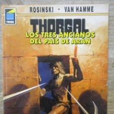 Cómics: THORGAL - COLECCION PANDORA - LOS TRES ANCIANOS DEL PAIS DE ARAN - ROSINSKI-VAN HAMME - NORMA . Lote 183366510