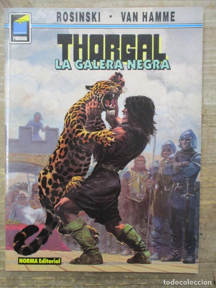 THORGAL - COLECCION PANDORA - LA GALERA NEGRA - ROSINSKI-VAN HAMME - NORMA (Tebeos y Comics - Norma - Comic Europeo)