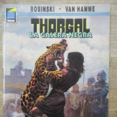 Cómics: THORGAL - COLECCION PANDORA - LA GALERA NEGRA - ROSINSKI-VAN HAMME - NORMA . Lote 183366566