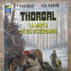 Cómics: THORGAL - COLECCION PANDORA - LA MARCA DE LOS DESTERRADOS - ROSINSKI-VAN HAMME - NORMA . Lote 183366618