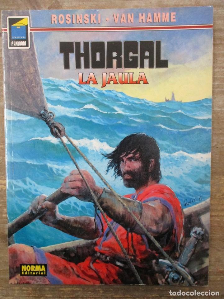 THORGAL - COLECCION PANDORA - LA JAULA - ROSINSKI - VAN HAMME - NORMA (Tebeos y Comics - Norma - Comic Europeo)