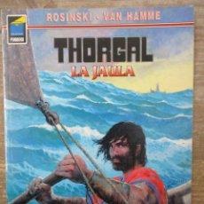 Cómics: THORGAL - COLECCION PANDORA - LA JAULA - ROSINSKI - VAN HAMME - NORMA. Lote 183367220