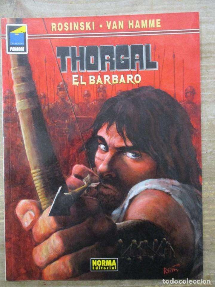 THORGAL - COLECCION PANDORA - EL BARBARO - ROSINSKI - VAN HAMME - NORMA (Tebeos y Comics - Norma - Comic Europeo)
