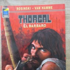 Cómics: THORGAL - COLECCION PANDORA - EL BARBARO - ROSINSKI - VAN HAMME - NORMA . Lote 183367426
