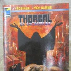 Cómics: THORGAL - COLECCION PANDORA - EL SACRIFICIO - ROSINSKI - VAN HAMME - NORMA . Lote 183367560