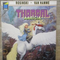 Cómics: THORGAL - COLECCION PANDORA - AARICIA - ROSINSKI - VAN HAMME - NORMA . Lote 183369400