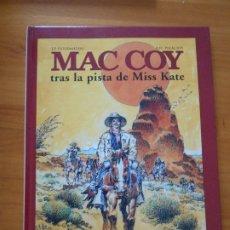 Cómics: MAC COY Nº 21 - TRAS LA PISTA DE MISS KATE - GOURMELEN, PALACIOS - NORMA - TAPA DURA (HL). Lote 183387227