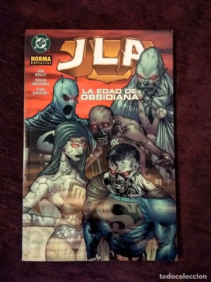 JLA - LA ERA DE OBSIDIANA - LIGA DE LA JUSTICIA - NORMA EDITORIAL (Tebeos y Comics - Norma - Comic USA)