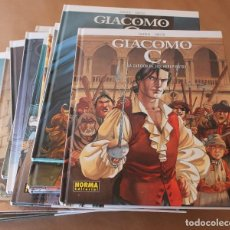 Cómics: GIACOMO C - NºS 1 2 3 4 5 6 7 8 9 10 11 12 13 14 15 COMPLETA - DUFAUX / GRIFFO - Y SUELTOS. Lote 183464380