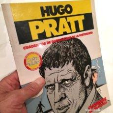Cómics: HUGO PRATT, COLECCIÓN UN HOMBRE MIL IMÁGENES, CUADERNOS DE DIVULGACIÓN DE LA HISTORIETA, NORMA,1983. Lote 183527308