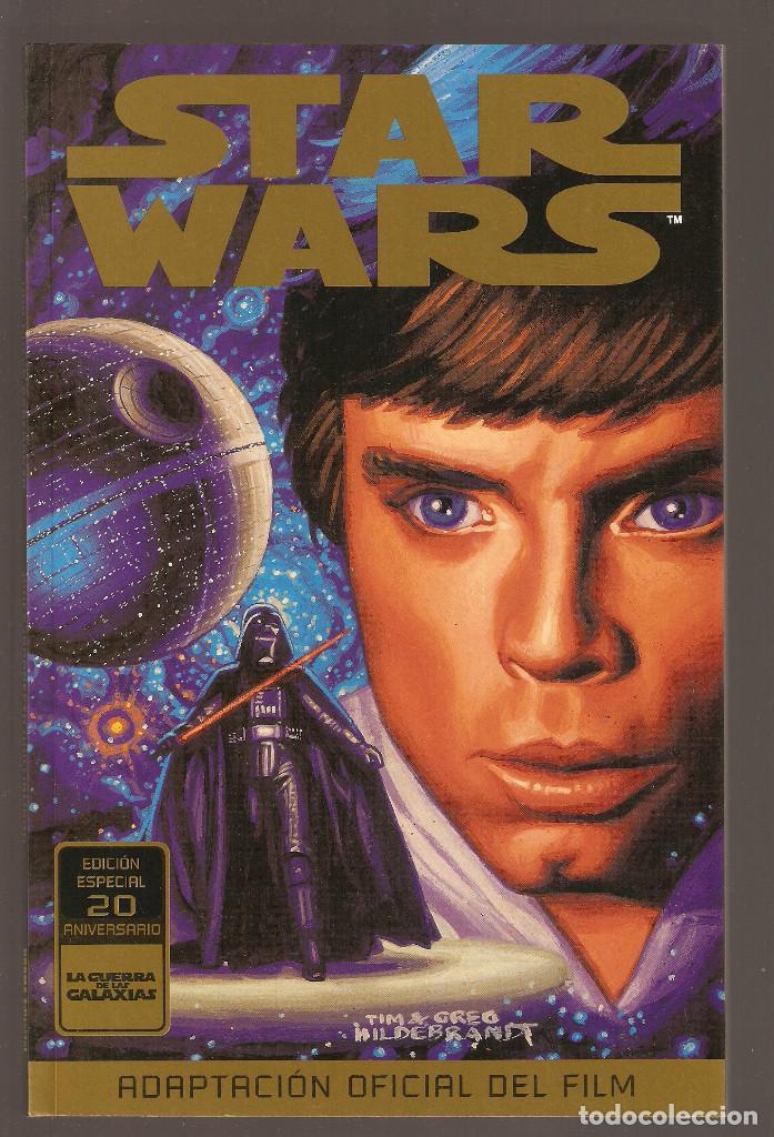 STAR WARS UNA NUEVA ESPERANZA- EDICION ESPECIAL 20 ANIVERSARIO - LA GUERRA DE LAS GALAXIAS - (Tebeos y Comics - Norma - Otros)