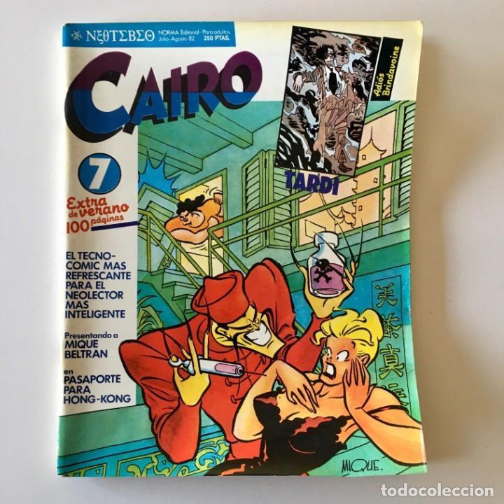 Cómics: Lote 25 Comics CAIRO más 3 tomos recopilatorios Antología, Norma editorial, ver detalle y fotos - Foto 9 - 183619810
