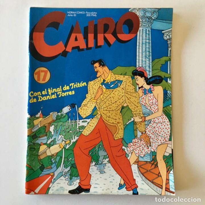 Cómics: Lote 25 Comics CAIRO más 3 tomos recopilatorios Antología, Norma editorial, ver detalle y fotos - Foto 13 - 183619810