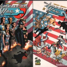 Cómics: THE AMERICAN WAY TOMO 1 Y 2 / COMIC NORMA EDITORIAL DE 2007 RF-81 , PERFECTO ESTADO. Lote 183637636