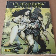Cómics: LA MARIPOSA Y LA LLAMA - E. S. ABULÍ / M. SAURÍ - NORMA ED. AÑO 2009 - MUY BUEN ESTADO. Lote 183801242