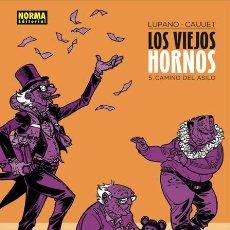 Cómics: CÒMICS. LOS VIEJOS HORNOS 5. CAMINO DEL ASILO - WILFRIED LUPANO/CAUUET (CARTONÉ). Lote 183808832