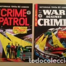 Cómics: EC CRIME PATROL MD WEIRD SCIENCE TWO-FISTED TALES WAR CRIME PSYCHOANALYSIS. Lote 183846880