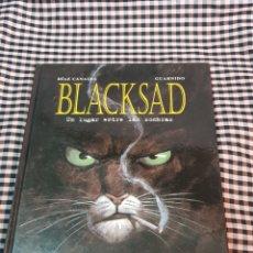 Comics: BLACKSAD, N° 1, UN LUGAR ENTRE LAS SOMBRAS, NORMA EDITORIAL, 2OO2, CASTELLANO.. Lote 183991893