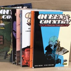 Cómics: QUEEN & COUNTRY SERIE COMPLETA. 8 TOMOS. EN ESTUCHE. Lote 184010460