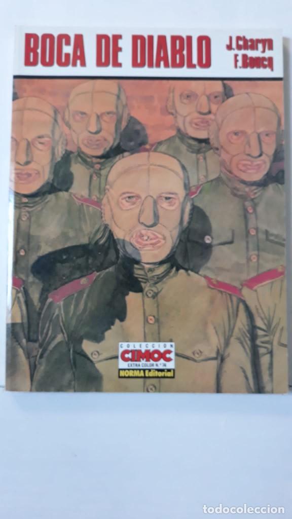 BOCA DE DIABLO, CHARYN, J. / BOUCQ, F. (CEC 74) (Tebeos y Comics - Norma - Comic Europeo)