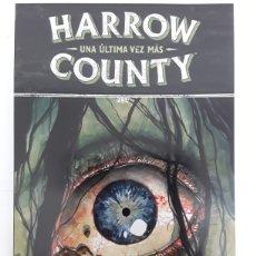 Cómics: HARROW COUNTY 8. UNA ÚLTIMA VEZ MÁS - CULLEN BUNN, TYLER CROOK - NORMA EDITORIAL. Lote 184089380