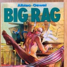 Comics : BIG RAG - ALBIAC, OSWAL - COLECCION EL MURO Nº 16. Lote 184434486