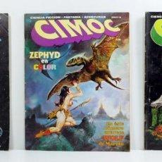 Cómics: COMIC CIMOC Nº 5 - 6 - 8 - NORMA EDITORIAL - PRIMERA EPOCA. Lote 184639165