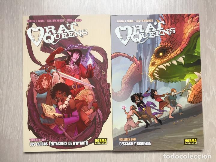 RAT QUEENS 1 Y 2, DE KURTIS J. WIEBE Y ROC UPCHURCH (Tebeos y Comics - Norma - Comic USA)