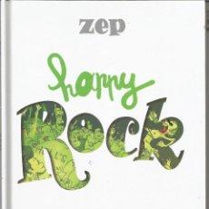 Cómics: HAPPY ROCK ZEP NORMA EDITORIAL. Lote 184868548
