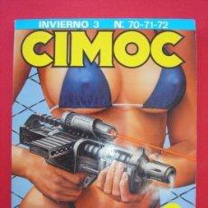 Cómics: CIMOC NºS 70, 71 Y 72. RETAPADO INVIERNO 3. NORMA EDITORIAL. CON PORTADAS.. Lote 185953990