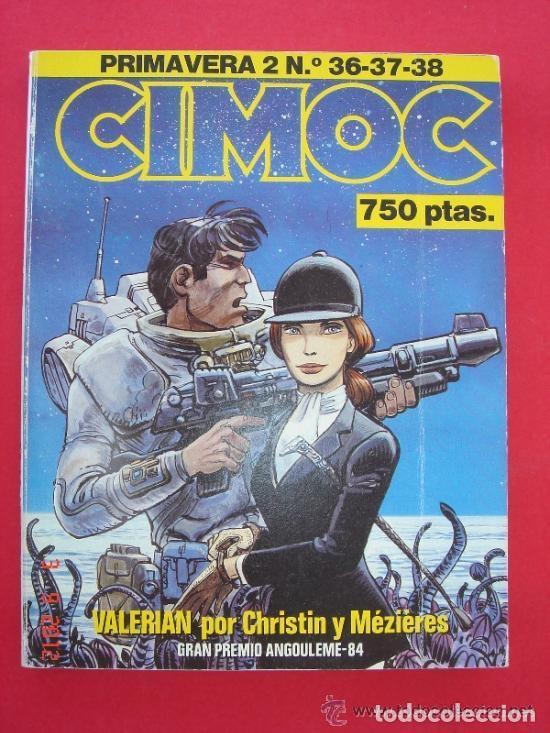 CIMOC NºS 36, 37 Y 38. RETAPADO PRIMAVERA 2. NORMA EDITORIAL. VER FOTOS. (Tebeos y Comics - Norma - Cimoc)
