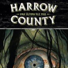 Cómics: HARROW COUNTY 8 UNA ULTIMA VEZ MAS. Lote 186094786