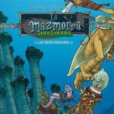 Comics : LA MAZMORRA: MONSTRUOS Nº 09: LAS PROFUNDIDADES (CEC Nº 235). Lote 186245482