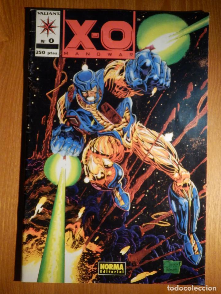 COMIC - X-O MANOWAR - Nº 0 - NORMA EDITORIAL (Tebeos y Comics - Norma - Otros)