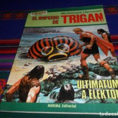 Cómics: EL IMPERIO DE TRIGAN Nº 3 ULTIMATUM A ELEKTON, CIMOC EXTRA COLOR 7. NORMA EDITORIAL 1983 375 PTS MBE. Lote 186282838
