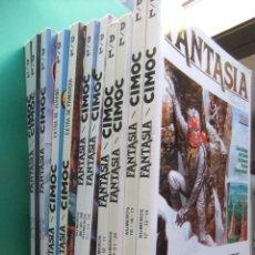Cómics: FANTASIA CIMOC LOTE DE 11 TOMOS NORMA EDITORIAL. Lote 186301497