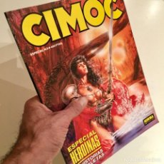 Cómics: REVISTA DE CÓMICS CIMOC, ESPECIAL HEROÍNAS, NÚMERO EXTRA 9, NORMA EDITORIAL. Lote 186445293