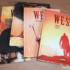 Cómics: W.E.S.T. 1 2 3 4 5 6 - CHRISTIAN ROSSI - COMPLETA - NORMA ED. - COMO NUEVOS - WEST. Lote 187168285