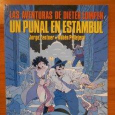 Cómics: LAS AVENTURAS DE DIETER LUMPEN Nº 3 - UN PUÑAL EN ESTAMBUL - ZENTNER, PELLEJERO - NORMA (GR). Lote 187171963