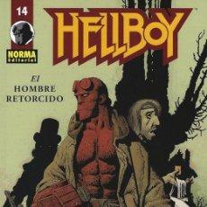 Cómics: HELLBOY - EL HOMBRE RETORCIDO - MIGNOLA - CORBEN - TAPA BLANDA - 48 PAGS. Lote 187176341
