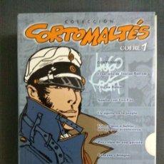 Cómics: COLECCIÓN CORTO MALTÉS - HUGO PRATT - COFRE 1. Lote 187205678