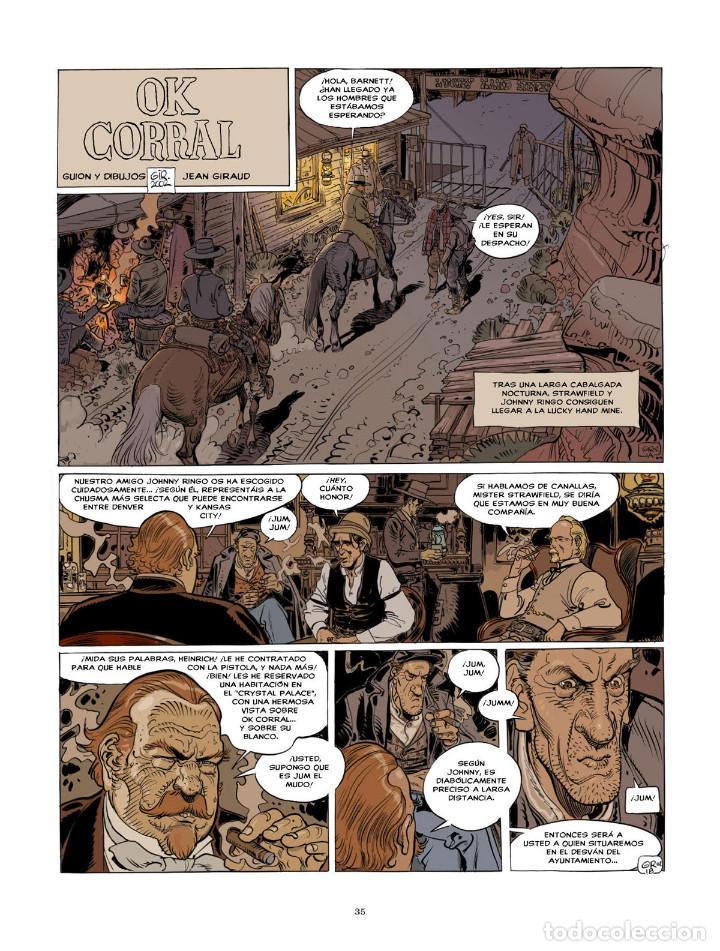 Cómics: Cómics. BLUEBERRY. EDICIÓN INTEGRAL 9 - Charlier/Giraud (Cartoné) - Foto 2 - 187316695