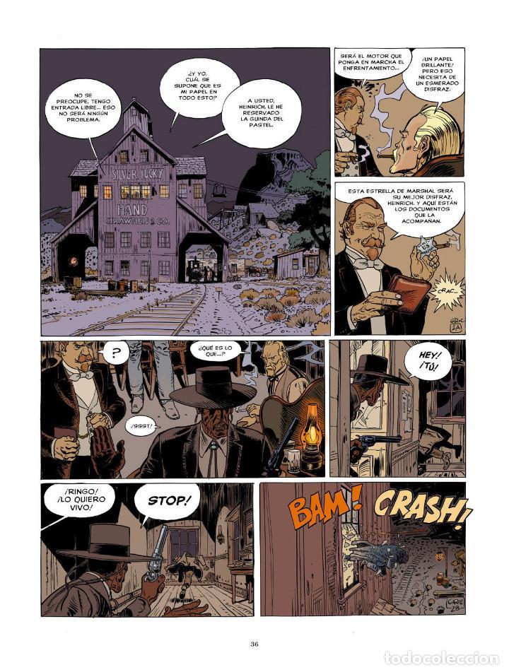 Cómics: Cómics. BLUEBERRY. EDICIÓN INTEGRAL 9 - Charlier/Giraud (Cartoné) - Foto 3 - 187316695