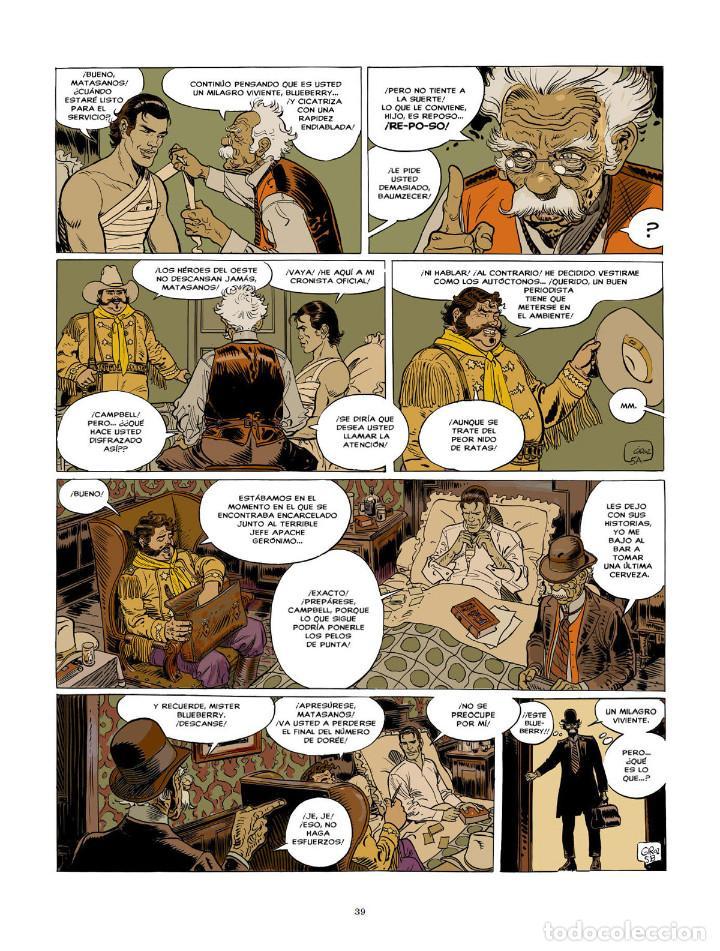 Cómics: Cómics. BLUEBERRY. EDICIÓN INTEGRAL 9 - Charlier/Giraud (Cartoné) - Foto 6 - 187316695