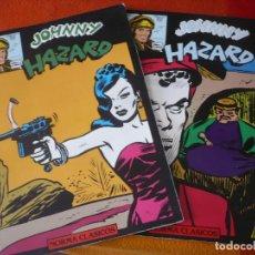 Cómics: JOHNNY HAZARD NºS 5 Y 6 ( FRANK ROBBINS ) NORMA CLASICOS. Lote 187563780