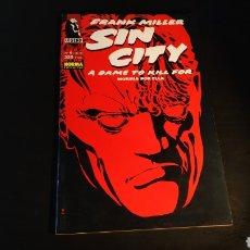 Cómics: EXCELENTE ESTADO SIN CITY 6 A DAME TO KILL FOR FRANK MILLER NORMA EDITORIAL LEGEND. Lote 187580133