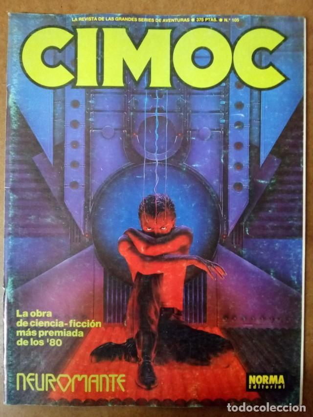 CIMOC Nº 105 - NORMA - BUEN ESTADO (Tebeos y Comics - Norma - Cimoc)