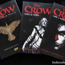 Cómics: THE CROW EDITORIAL NORMA TRES TEBEOS. Lote 187650480