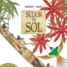 Comics : SUDOR DE SOL. CRISTÓBAL COLÓN EN EL ORINOCO. INTEGRAL PONENT MON. TAPA DURA. 240 PAGINAS. Lote 219156280
